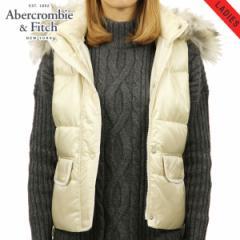 アバクロ Abercrombie&Fitch 正規品 レディース ベスト HOODED PUFFER VEST 144-442-0493-475
