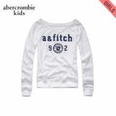 アバクロキッズ AbercrombieKids 正規品 子供服 ガールズ スウェット brieann sweatshirt WHITE