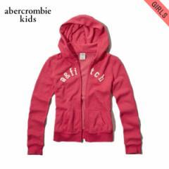 アバクロキッズ AbercrombieKids 正規品 子供服 ガールズ ジップアップパーカー shine logo hoodie 252-767-0174-062