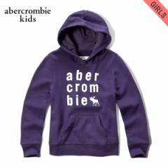 アバクロキッズ AbercrombieKids 正規品 子供服 ガールズ パーカー applique logo graphic hoodie 252-767-0237-068