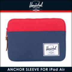 ハーシェル サプライ Herschel Supply 正規販売店 iPad Air ケース Anchor Sleeve for iPad Air Sleeves 10174-00018-OS Navy/Red