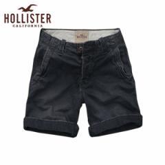 ホリスター HOLLISTER 正規品 メンズ ショートパンツ SHORT PANTS ネイビー