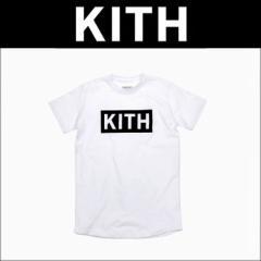 キス KITH 正規品 メンズ 半袖Tシャツ KITH Classics Logo Tee - White / Black