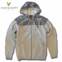 ライルアンドスコット LYLE&SCOTT FAIRISLE HOOFED SWEATER フーデッドセーター ブレー 10P13Jun14