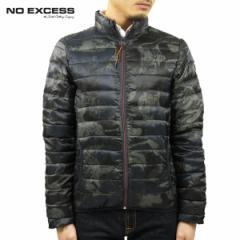 ノーエクセス NO EXCESS 正規品 メンズ アウタージャケット camouflage printed, padding real down Jacket