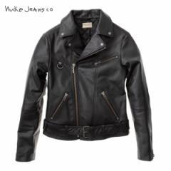 ヌーディージーンズ Nudie Jeans 正規販売店 メンズ アウタージャケット Ziggy B01 Black 160411