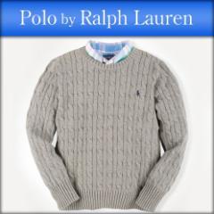 ポロ ラルフローレン キッズ POLO RALPH LAUREN CHILDREN 正規品 子供服 ボーイズ セーター CABLE-KNIT COTTON SWEATER 37716906