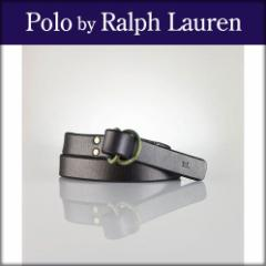 ポロ ラルフローレン POLO RALPH LAUREN 正規品 メンズ ベルト Leather O-Ring Belt DARK BROWN