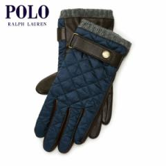 ポロラルフローレン POLO RALPH LAUREN 正規品 メンズ 手袋 DIAMOND-QUILTED FIELD GLOVES