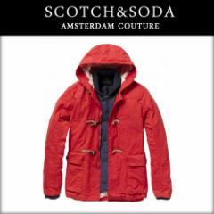 スコッチアンドソーダ SCOTCH&SODA メンズ ダッフルコート Outdoor duffle coat + inner jacket 10010