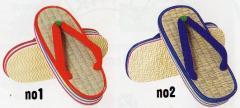 子供用いぐさ草履(15cm〜21cm)