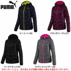 PUMA(プーマ)LITE フーデッドダウンジャケット(590451)カジュアル スポーツ アウター 防寒 レディース