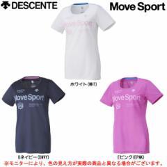 DESCENTE(デサント)クールトランスファー ハーフスリーブシャツ(DAT5686W)Move Sport スポーツ  レディース