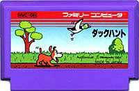 ▲【レターパックOK】FC ファミコン 任天堂 ダックハント シューティングゲーム h-g-fc-478-b【中古】