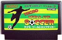 ▲【クリックポスト6個まで164円】FC ファミコン テクモ ワールドカップサッカー アクションゲーム h-g-fc-1030【中古】