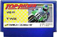▲【クリックポスト6個まで164円】FC ファミコン バリエ トップライダー レースゲーム h-g-fc-577【中古】