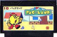 ▲【クリックポスト6個まで164円】FC ファミコン ナムコ パックランド アクションゲーム h-g-fc-696【中古】