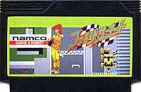 ▲【クリックポスト6個まで164円】 FC ファミコン ナムコ ファミリーサーキット レースゲーム h-g-fc-778 【中古】