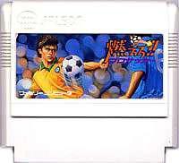 ▲【クリックポスト6個まで164円】FC ファミコン ジャレコ 燃えろプロサッカー アクションゲーム h-g-fc-962【中古】