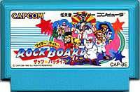 ▲【クリックポスト6個まで164円】FC ファミコン カプコン ワイリー&ライトのロックボード テーブルゲーム h-g-fc-1033【中古】