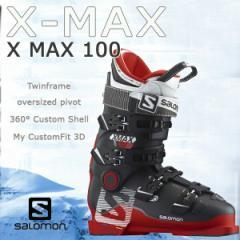 SALOMON 【サロモン】X MAX 100 RED/BLACK スキーブーツ スキー靴
