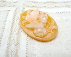 バタフライ マンダリンオレンジ 2.5x1.8[cam-243]