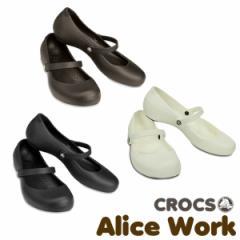 【20%OFF】【送料無料】CROCS Alice Work Ladys クロックス アリス ワーク レディース サンダル パンプス 【女性用】
