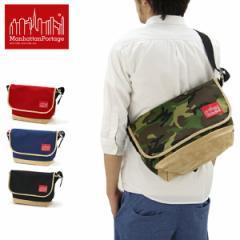 マンハッタン ポーテージ(Manhattan Portage) Suede Fabric Vintage Messenger Bag(1606VJRSD13) メッセンジャーバッグ≪M≫