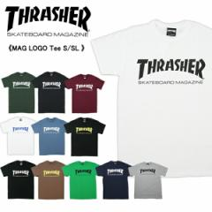 【10%OFF】【メール便送料無料】【メール便可】スラッシャー(THRASHER) MAG LOGO Tee S/SL(TH8101) メンズ 半袖 Tシャツ