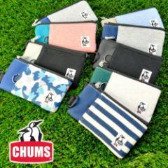 チャムス/CHUMS/スマートフォンケース/スウェットナイロン/Smart Phone Case/CH60-2052「ネコポス可能」 「ネコポス便可能」 人気/かわい