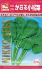 かおる小松菜 約800粒 【春】【秋】 【郵送対応】