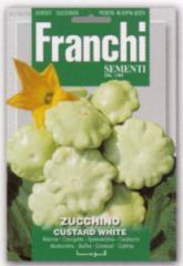 【FRANCHI社】【146/49】UFO型ズッキーニ・カスタードホワイト 【郵送対応】