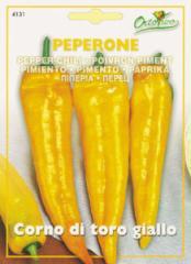 【HORTUS社】ペッパーチリ・黄(Corno di toro giallo)[4131] 【郵送対応】