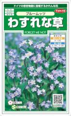 サカタのタネ わすれな草 ブルームッツ 0.2ml【郵送対応】