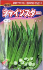 渡辺交配 オクラ シャインスター 6ml 【郵送対応】