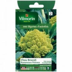 【Vilmorin社】カリフラワー Romanesco Precoce【郵送対応】