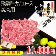 【肉のひぐち】『ぽっきり価格』【送料無料】飛騨牛かたロース肉焼肉用700g(4〜5人前)【化粧箱入】牛肉/焼肉//お