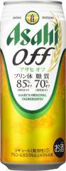 【2ケース単位】【送料無料!】(北海道、沖縄、離島地域は除く。配送は佐川急便で。)アサヒオフ500ML缶(6缶パック×4入=24