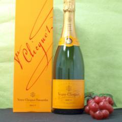 シャンパン(但し北海道、沖縄、離島地域は除きます。佐川急便指定です。)ヴーヴ・クリコ・ポンサルダン・イエロー750ML白