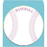 ボール円型色紙 ケ495 野球 封筒付
