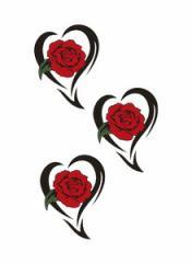 タトゥーシール【ミニサイズ (5×9cm)】 薔薇トライブ-2(タトゥー/ミニ/TATOO/シール/通販)