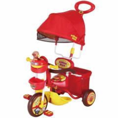 【送料無料】M&M(エムアンドエム) 三輪車 アンパンマン デラックス 【1.5歳〜4歳11ヶ月】※他商品との同梱不可|[6016525]