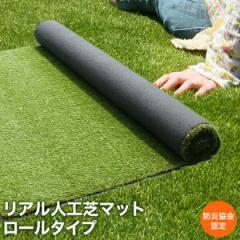 【送料無料】人工芝 ロール リアル ベランダ マット 2×1〜6mまで任意指定 芝生 人工芝生 天然芝 人工芝 マット