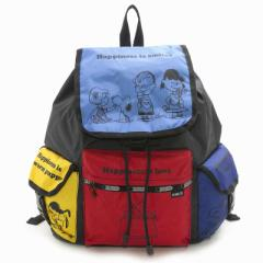 LeSportsac 7839 G060 SNOOPY AND FRIENDS ボイジャー バックパック VOYAGER BACKPACK  リュックサック バッグ レスポートサック