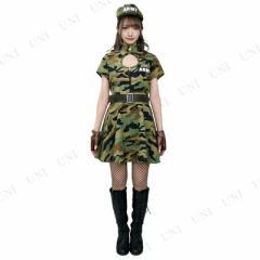 ・CLUB QUEEN Army Lady Green(アーミーレディグリーン) ハロウィン 衣装 仮装衣装 コスプレ コスチュ