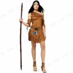 【在庫処分】 アメリカインディアン SM ハロウィン 衣装 仮装衣装 コスプレ コスチューム 大人用 女性用 レディース パーテ