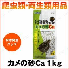【取寄品】 爬虫類・両生類用品 カメの砂Ca/タートルサンド 1kg ペット用品・ペットグッズ 底砂 床材 亀用