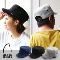 (シェラデザインズ) SIERRA DESIGNS ワーク キャップ パイル地 レザー ベルト  メンズ レディース