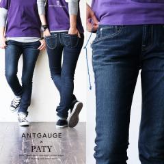 (アントゲージ) Antgauge × PATY スキニー デニム パンツ マジック ポケット ストレッチ デニム