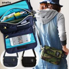 (アネロ) anello バッグ ショルダー ミニ お財布バッグ ナイロン生地 スマホケース バッグインバッグ